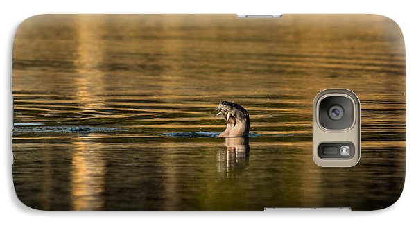 Galaxy Case featuring the photograph Basking In The Sunset Light by Yeates Photography
