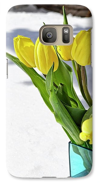 Galaxy Case featuring the photograph Basking In The Sunshine by Traci Cottingham