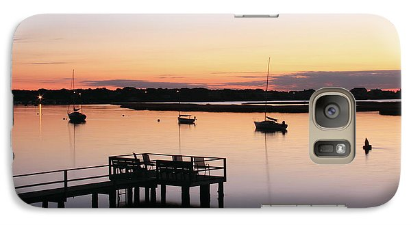 Galaxy Case featuring the photograph Bass River Before Sunrise by Roupen  Baker