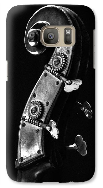 Galaxy Case featuring the photograph Bass Violin by Julia Wilcox