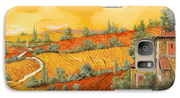 Sunflower Galaxy S7 Case - Bassa Toscana by Guido Borelli
