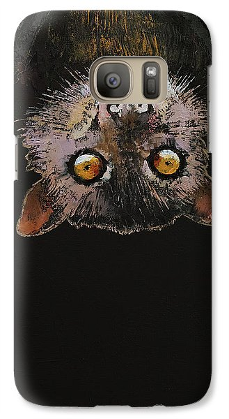 Bat Galaxy S7 Case by Michael Creese