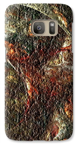 Galaxy Case featuring the digital art Bat Out Of Hell by Charmaine Zoe