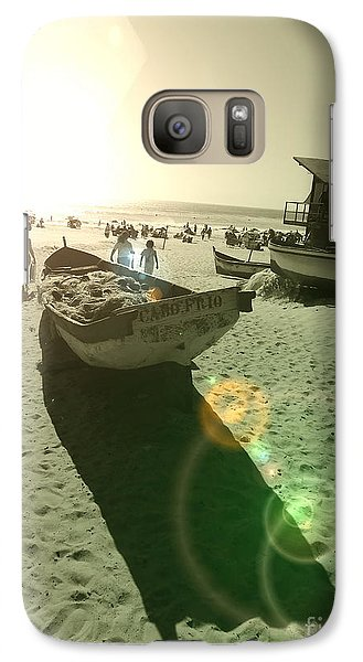 Galaxy Case featuring the photograph Batboat by Beto Machado