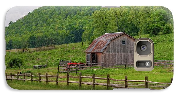 Galaxy Case featuring the photograph Bath Barn 0428a by Guy Whiteley