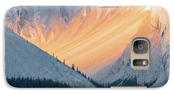 Galaxy Case featuring the photograph Bathed In Light by Carl Amoth