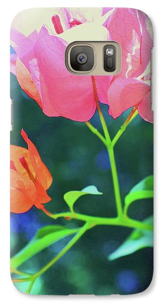 Galaxy Case featuring the photograph Bathed In Sunlight by Diane Miller