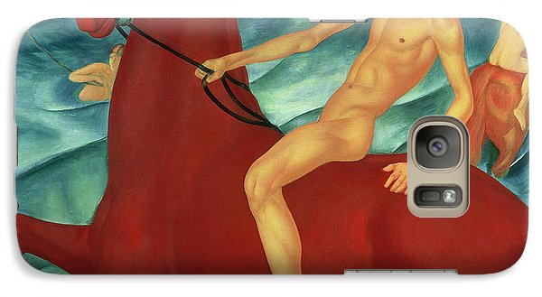 Bathing Of The Red Horse Galaxy S7 Case by Kuzma Sergeevich Petrov-Vodkin