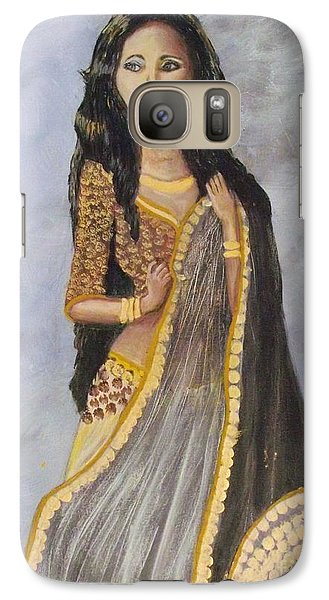Galaxy Case featuring the painting Bathsheba  by Donna Dixon