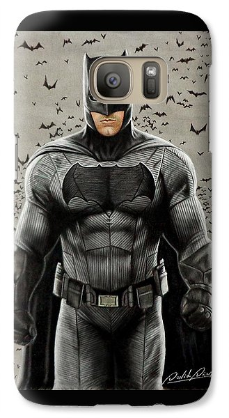 Batman Ben Affleck Galaxy S7 Case by David Dias
