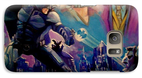 Galaxy Case featuring the painting Batman by Paul Weerasekera