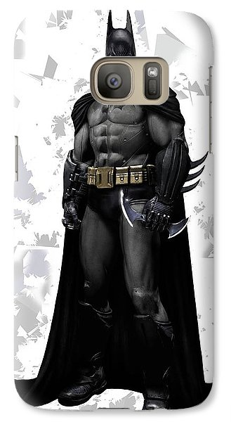Galaxy Case featuring the mixed media Batman Splash Super Hero Series by Movie Poster Prints