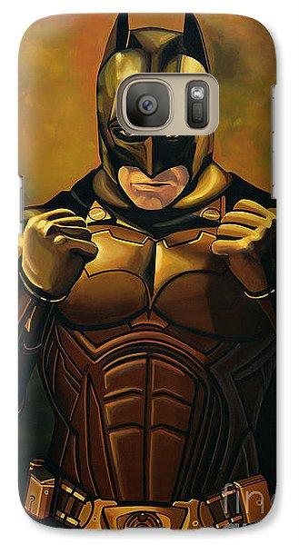 Knight Galaxy S7 Case - Batman The Dark Knight  by Paul Meijering