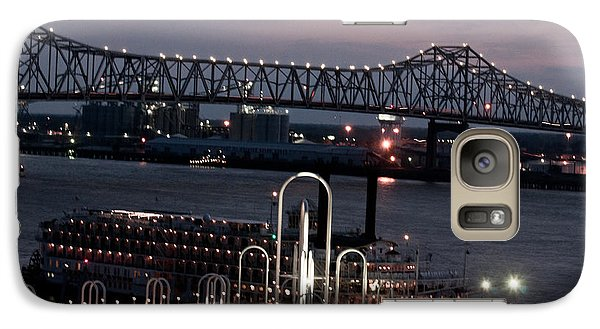 Galaxy Case featuring the photograph Baton Rouge Bridge by Helen Haw