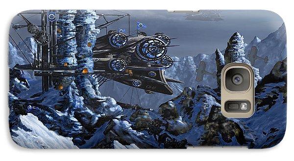 Galaxy Case featuring the digital art Battle Of Eagle's Peak by Curtiss Shaffer