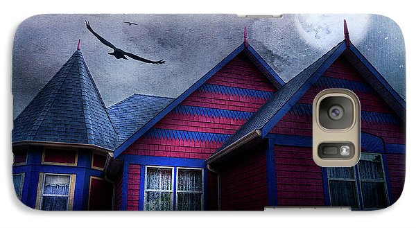 Galaxy Case featuring the photograph Battle Street West by Theresa Tahara