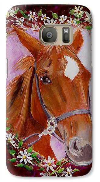 Galaxy Case featuring the painting Batuque by Quwatha Valentine