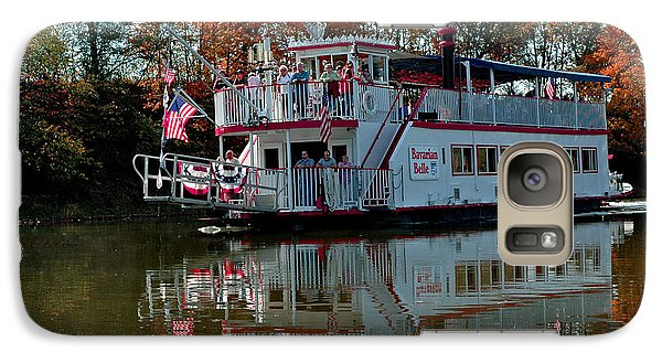 Galaxy Case featuring the photograph Bavarian Belle Riverboat by LeeAnn McLaneGoetz McLaneGoetzStudioLLCcom