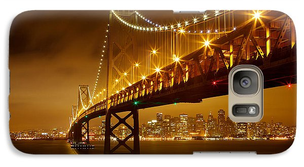 Galaxy Case featuring the photograph Bay Bridge by Evgeny Vasenev