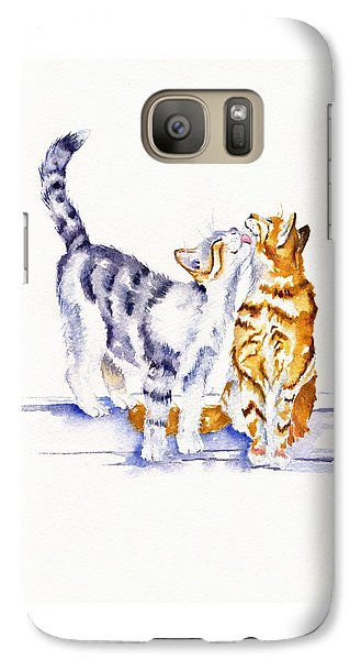 Cat Galaxy S7 Case - Be Cherished by Debra Hall