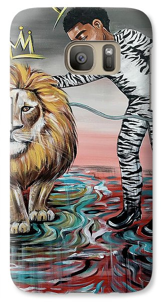 Galaxy S7 Case - Be Courageous My Son by Artist RiA