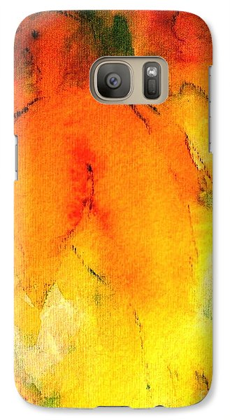 Galaxy Case featuring the painting Be Harmless As Doves by Hazel Holland