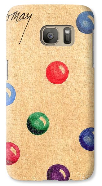 Galaxy S7 Case featuring the painting Be Joyous by Rod Ismay