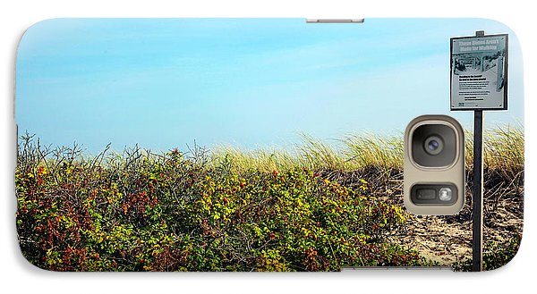 Galaxy Case featuring the photograph Be Kind To The Dune Plants by Madeline Ellis