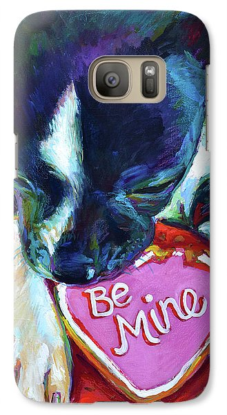 Galaxy Case featuring the painting Be Mine by Robert Phelps