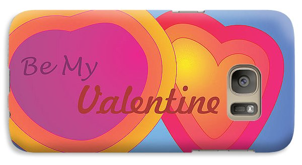 Galaxy Case featuring the digital art Be My Valentine Card by Sherril Porter