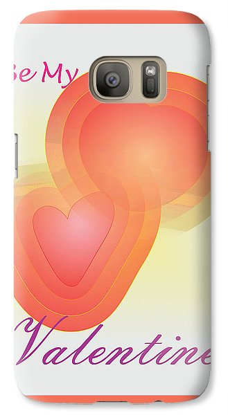Galaxy Case featuring the digital art Be My Valentine by Sherril Porter
