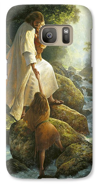 Religion Galaxy S7 Case - Be Not Afraid by Greg Olsen