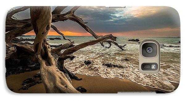 Galaxy Case featuring the photograph Beach 69 by Allen Biedrzycki