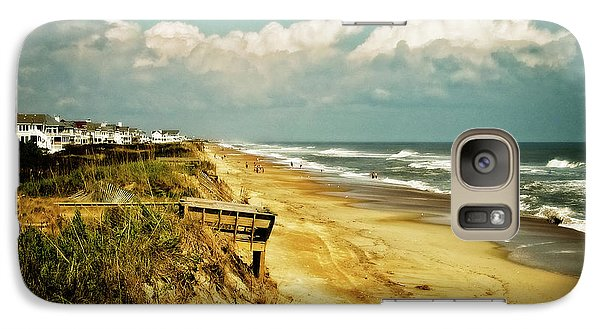 Beach At Corolla Galaxy S7 Case