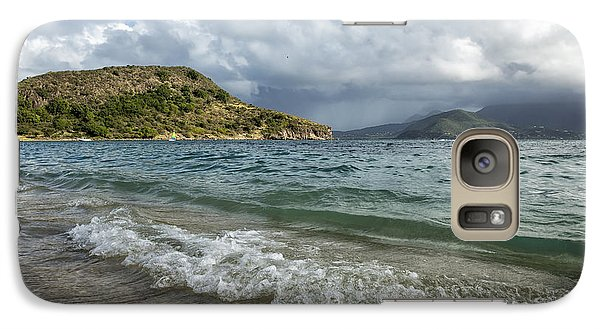 Beach At St. Kitts Galaxy S7 Case