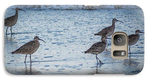Beach Birds Galaxy S7 Case