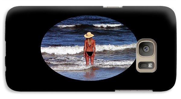 Galaxy Case featuring the photograph Beach Blonde .png by Al Powell Photography USA