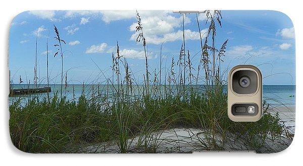 Galaxy Case featuring the photograph Beach by Carol  Bradley