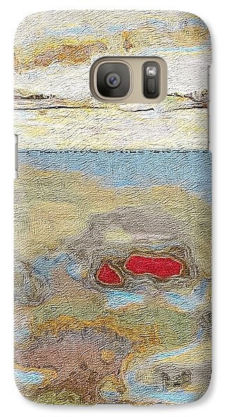 Galaxy Case featuring the photograph Beach Dunes by William Wyckoff