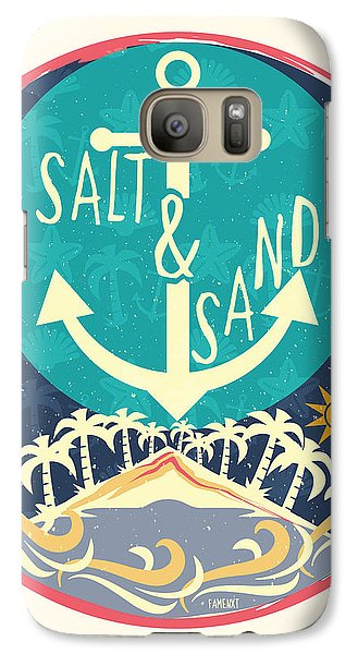 Beach Galaxy S7 Case by Famenxt DB