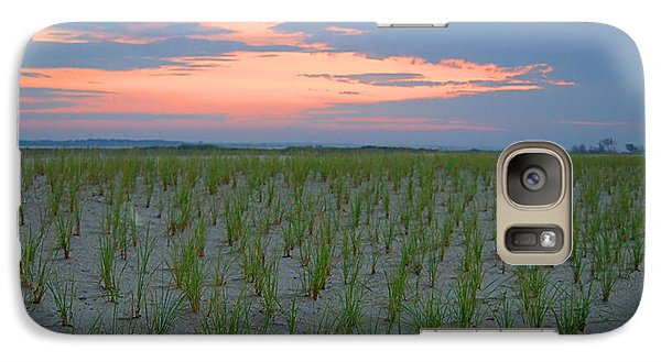 Galaxy Case featuring the photograph Beach Grass Farm by  Newwwman