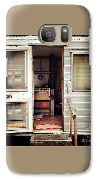 Galaxy Case featuring the photograph Camping Trailer by Susan Parish
