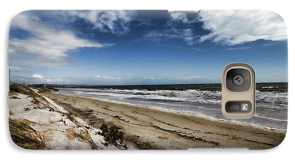 Galaxy Case featuring the photograph Beach Life by Douglas Barnard