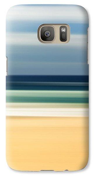 Beach Pastels Galaxy S7 Case by Az Jackson