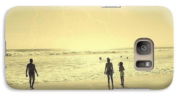 Galaxy Case featuring the photograph Beach Planet Series I by Beto Machado