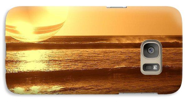 Galaxy Case featuring the photograph Beach Planet Series II by Beto Machado