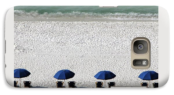 Galaxy Case featuring the photograph Beach Therapy 2 by Marie Hicks