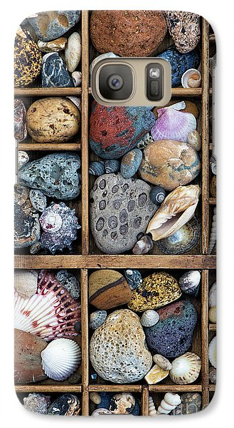Galaxy Case featuring the photograph Beach Treasures by Tim Gainey