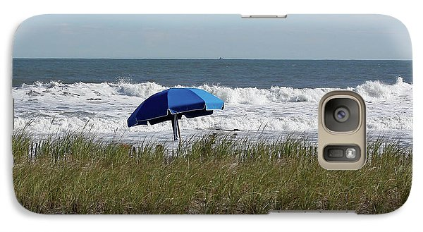 Galaxy Case featuring the photograph Beach Umbrella by Denise Pohl