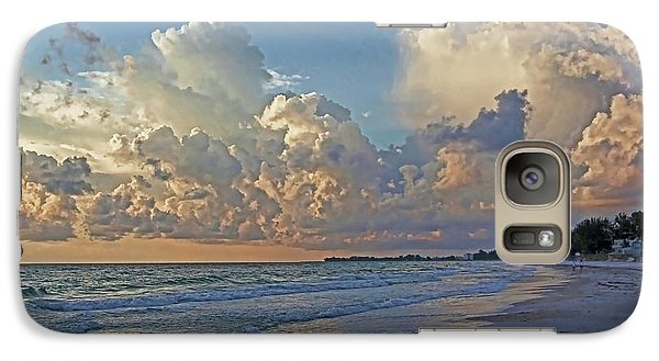 Galaxy Case featuring the photograph Beach Walk by HH Photography of Florida